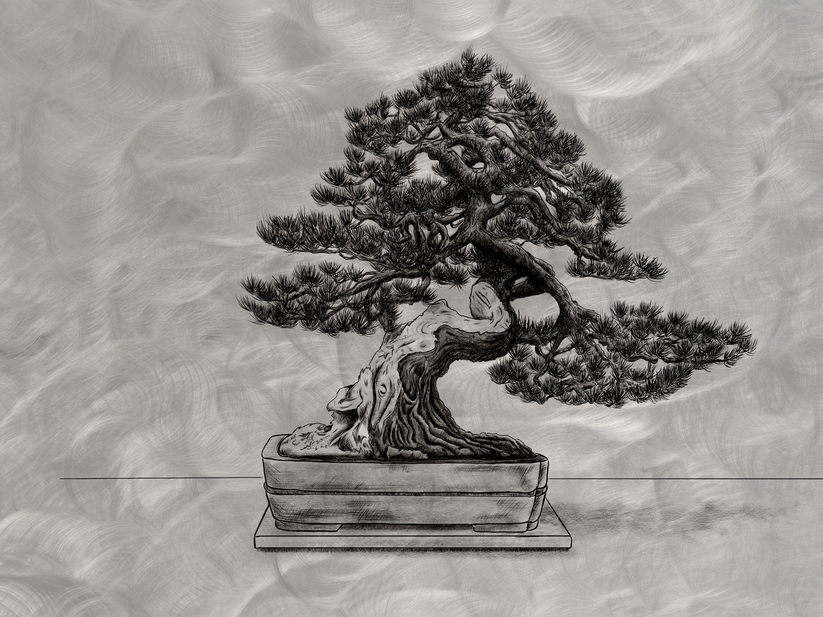 metal-bonsai