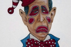 George Bush Clown