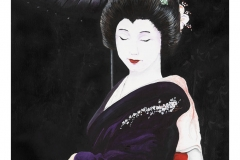 Geisha In Black