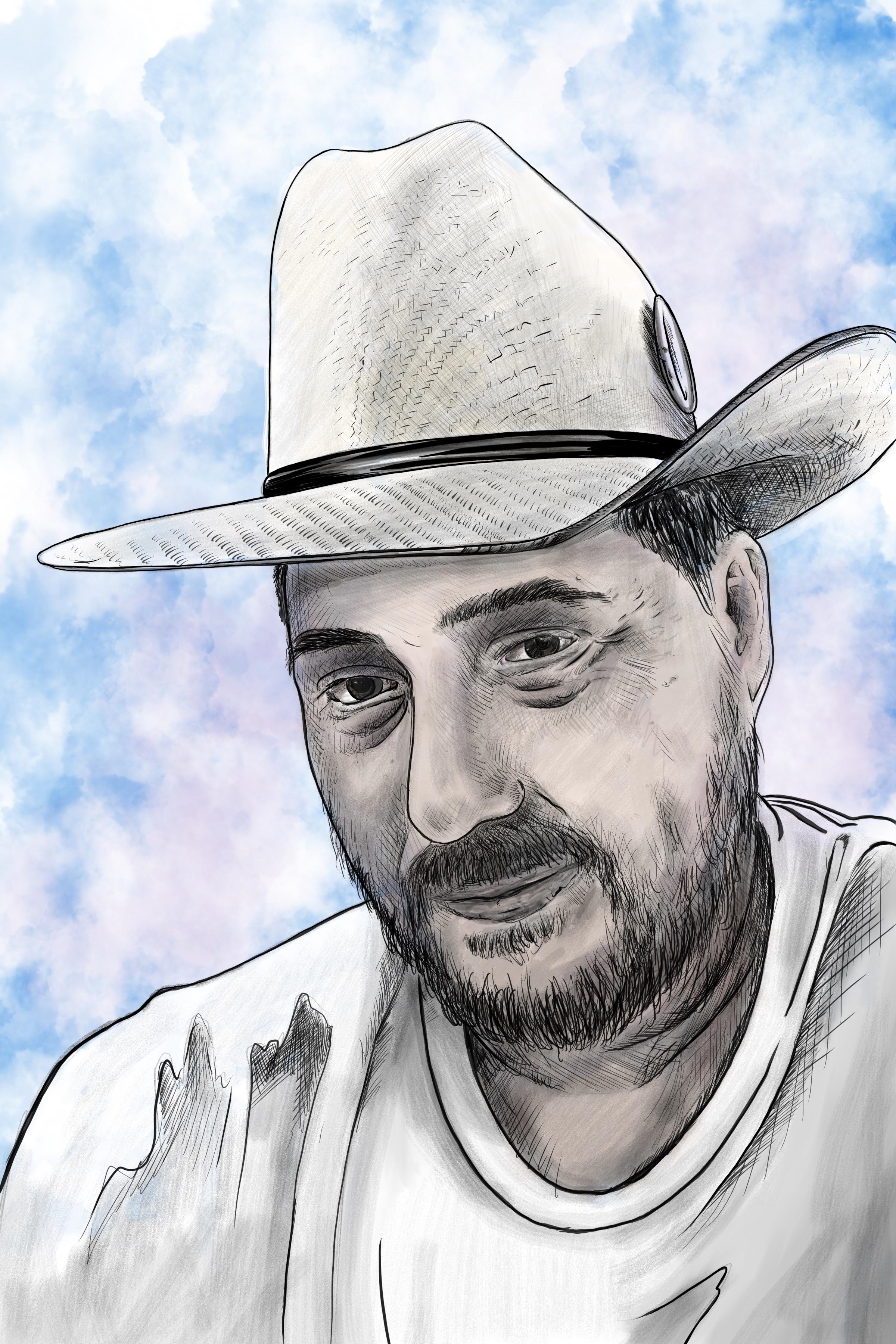 Digital Sketch Adrian