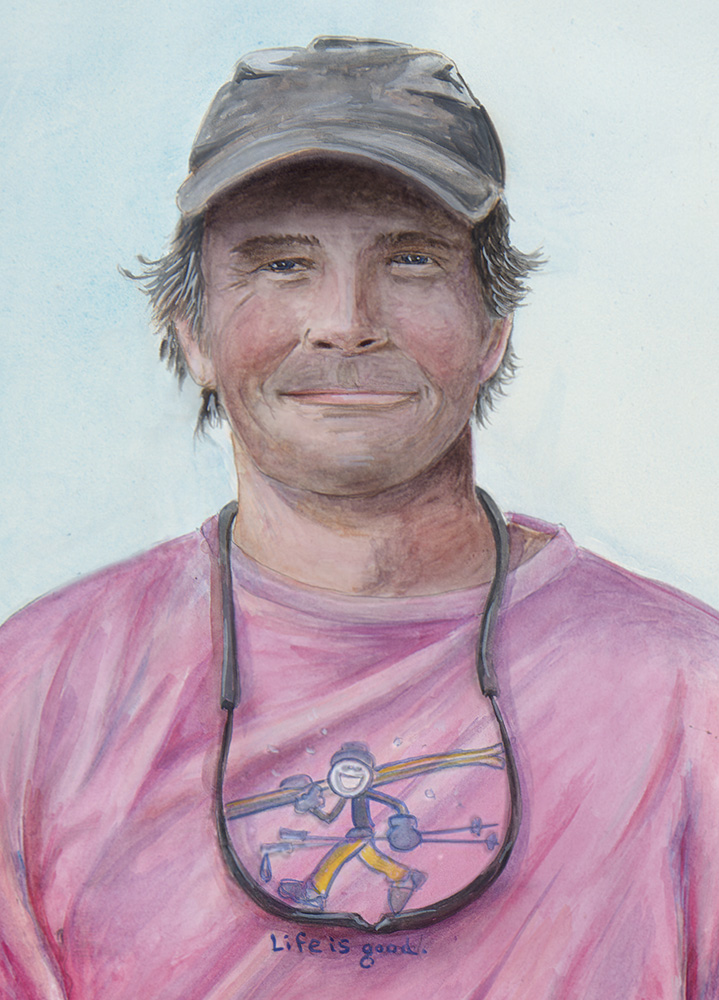 Mike - Watercolor