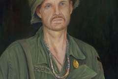 Scott Johnston Full Metal Jacket - oil paint